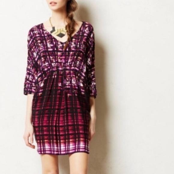 Anthropologie Dresses & Skirts - Anthropologie Maeve Purple Pencil Palette Tunic